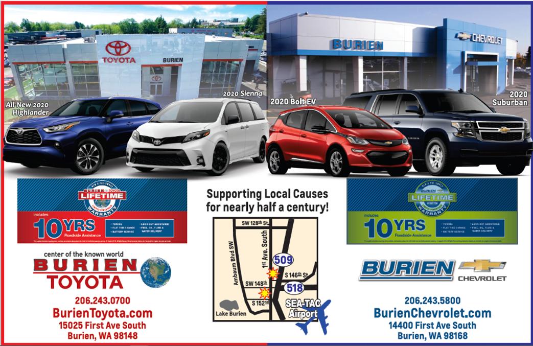 Burien Toyota Burien Chevrolet